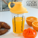 cook-yolk-juice-mixing-glass-with-juicer